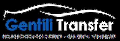 Logo Gentili Transfer Ufficiale White