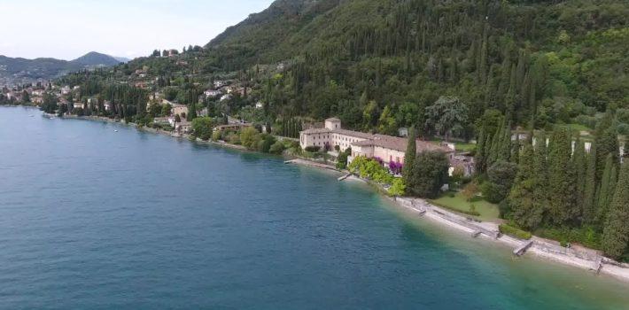 Garda Lake Brescia Drone 4k
