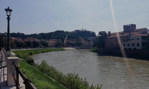 Verona Lungadige S. Giorgio #veneto #visititaly #verona #italy #incomingitaly
